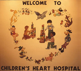 Children´s Heart Hospital Mural